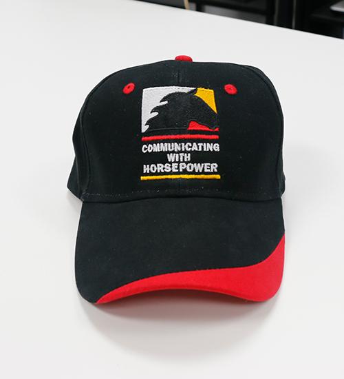 Communicating With HorsePower Baseball Cap